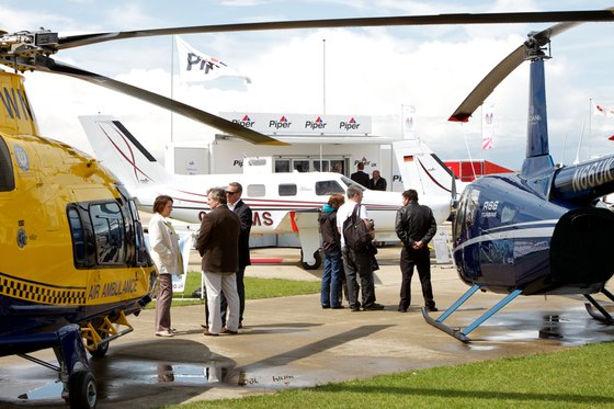 AeroExpo UK - Fixed wing and rotor aircraft