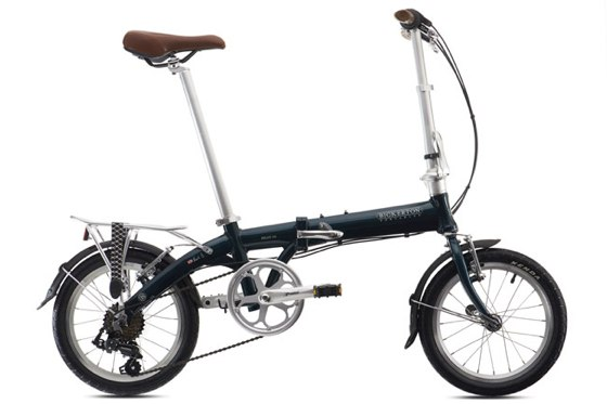 Bickerton Portables bike unfolded