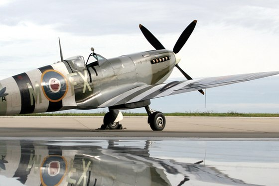 Fly in a Spitfire experience