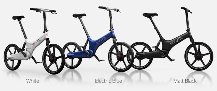 Gocycle G3 - colour options
