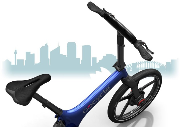 Gocycle G3 - easy to use