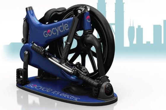 Gocycle G3 folded