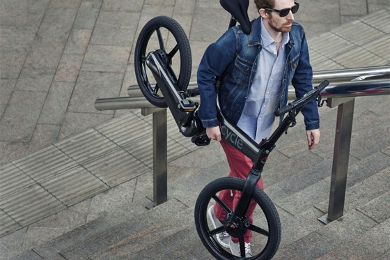 Gocycle lightweight electric bike