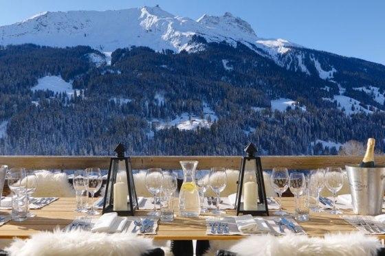 Luxury ski destination