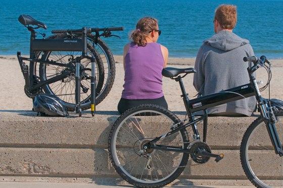 Practical folding bikes