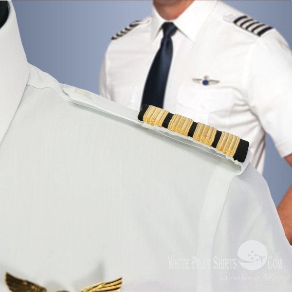 White Pilot Shirts